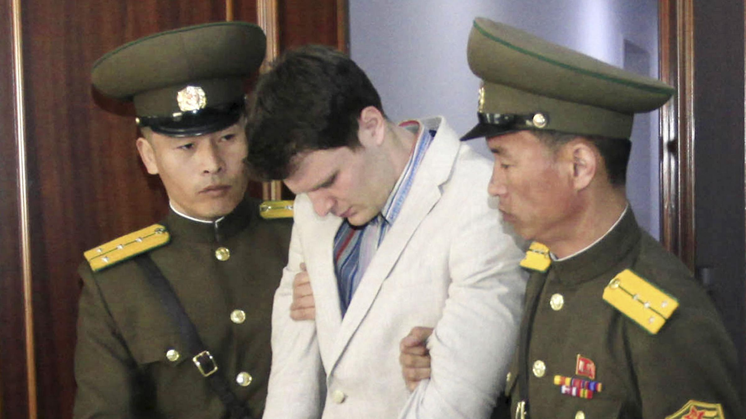 Otto Warmbier's Father Thanks Trump Administration for 'Bringing Otto Home'