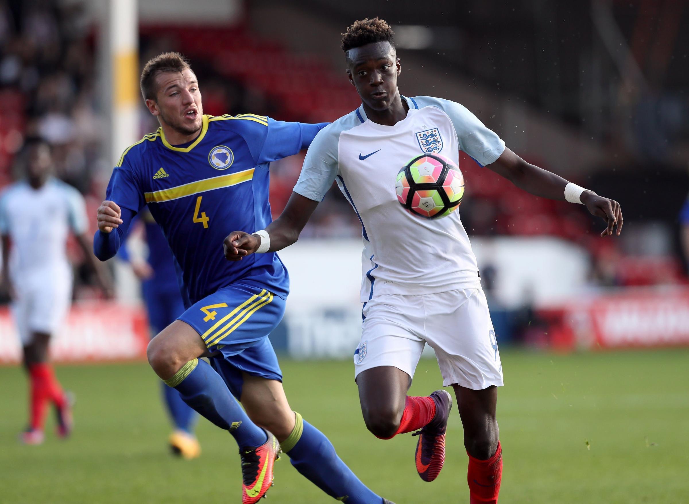 Brighton chief Barber confirms interest in Chelsea striker Abraham