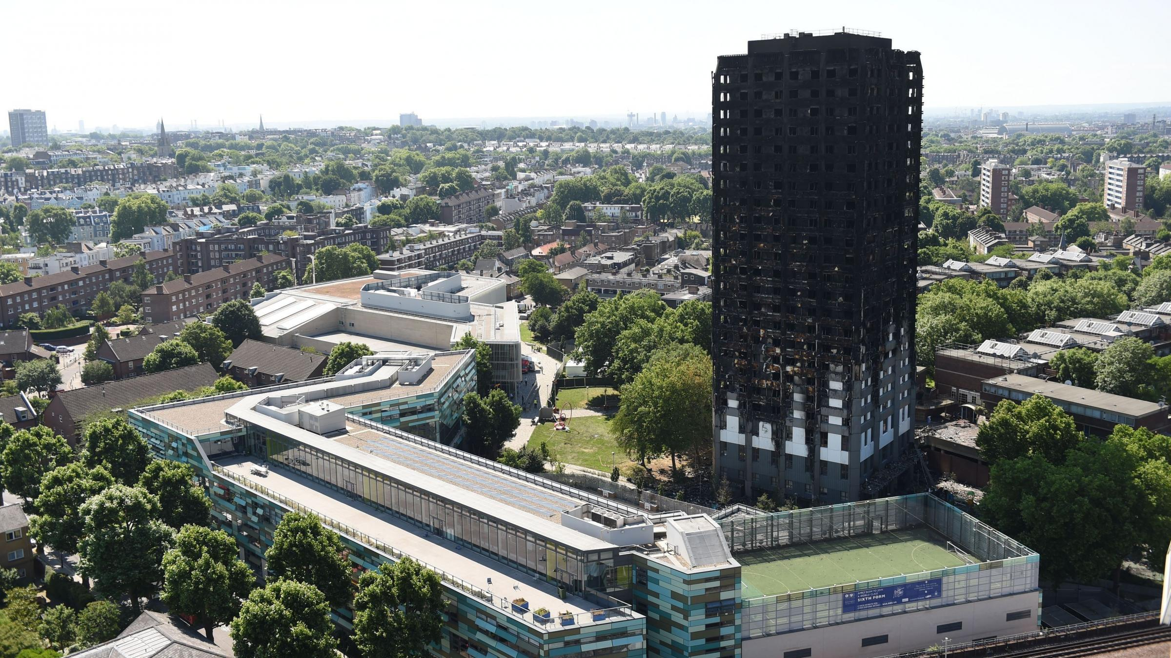 At least 58 presumed dead in London Grenfell fire