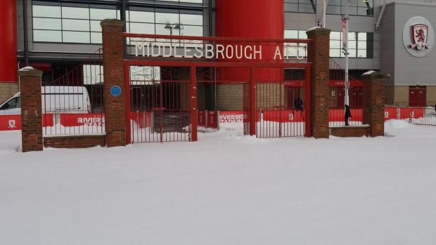 Middlesbrough clash against Leeds in danger because of bad weather