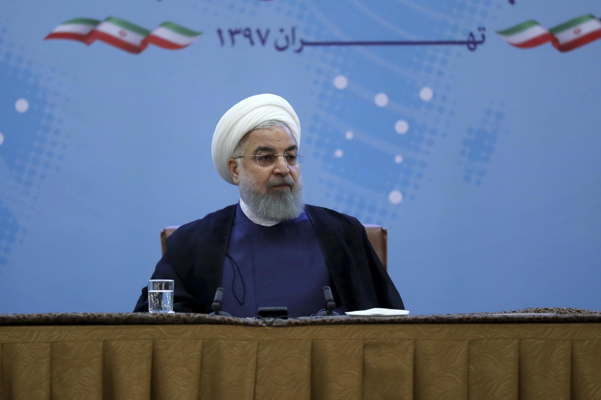 Rouhani says Trump's 'empty threats' not worth a response