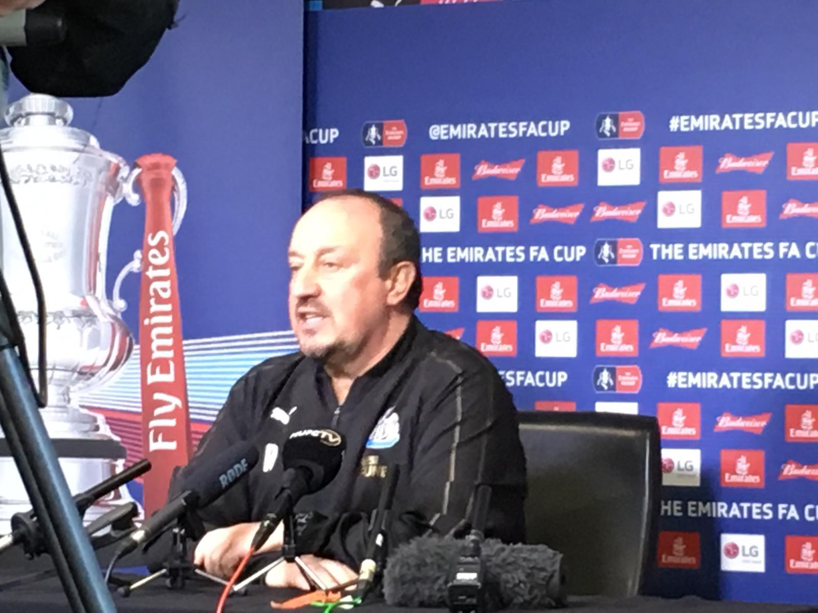 Blackburn v Newcastle: Rafael Benitez defends FA Cup selections